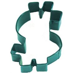 RM Dollar Sign 4 Cookie Cutter Green With Brightly Colored Durable Bakedon Polyresin Finish >>> Find out more about the great product at the image link.