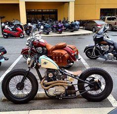 Best Ideas Bobber Motorcycle Cafe RacersYou can find Bobber motorcycle and more on our Best Ideas Bobber Motorcycle Cafe Racers Motos Bobber, Triumph Bobber, Bobber Bikes, Harley Bobber, Chopper Motorcycle, Bobber Chopper, Motorcycle Style, Scrambler, Custom Bobber