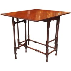Antique English, Drop-Leaf Table at 1stdibs