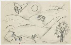 Song of Songs V - Marc Chagall  1965