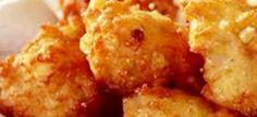 lekker so op sy eie , of 'n lusmaker by die braaivleis. 1 kop gaar dik stywe mielie pap – afgekoel (nie slappap of te styf nie) 1 kop koekmeelblom 3 t/lepels bakpoeier knypie mosterdpo… Braai Recipes, Meat Recipes, Cooking Recipes, Recipies, Pap Recipe, Kos, Good Food, Yummy Food, South African Recipes