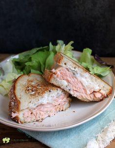 #HealthyRecipe : The Best Salmon Melt