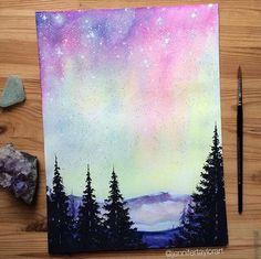 Rainbow skies by jennifertaylorart on DeviantArt