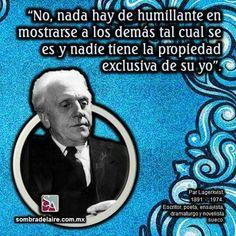 #EfemérideLiteraria En 1891 nace #ParLagerkvist, #Nobel de #Literatura 1951. #Novela #Poesía www.sombradelaire.com.mx