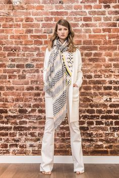 Søren Fashion Hagen  // Spring Summer 2016  #fashion #blouse #scarf #lalaberlin #fashionshoot #jacket #set #jeans #seafarer #springcollection
