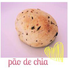 Cozinho, logo existo.: Como fazer: Pão de chia (sem glúten, sem lactose, ...