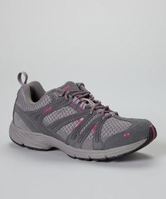 This Gray Cascade Running Shoe by Ryka is perfect! #zulilyfinds $34.99, usually 60.00