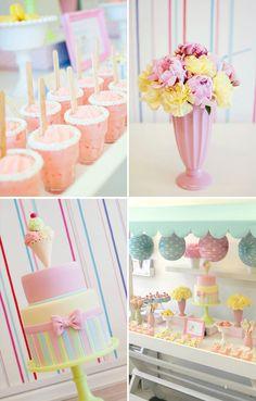 Ice cream social!  springtime-girls-birthdays