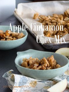 Apple Cinnamon Chex Mix-Budget Gourmet Mom
