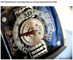 Sequential One S100 selected by Watch Collection Lifestyle among their 12 amazing watches of 2013.