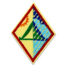 "For the third year in a row, this new Outdoor badge was selected through the Girl Scout ""Girls' Choice"" process.Girls cast their votes and selected the badge topics and designs, making the process girl-led from top to bottom. Iron-on. Twill with embroidery. Polyester. Made in USA.Girl Scout badges, awards, and other insignia that are earned for the accomplishment of skill building activities or any set requirements should be presented, worn, or displayed only after Girl Scouts have completed…"