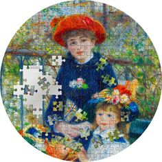 Zwei Schwestern 3 Unzen Feinsilber Puzzle Art, Two Sisters, Pierre Auguste Renoir, Mythological Creatures, French Artists, Coat Of Arms, Silver Coins, Mythology, The Incredibles