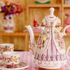 China porcelain tea kettle coffee cup teapot cups set dinnerware coffee use