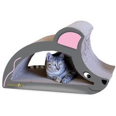 The charming Imperial Cat Mouse and Hedgehog Scratch n Shape provides your cat with two corrugated cardboard scratchers. The playful mouse and hedgehog. I Love Cats, Crazy Cats, Cool Cats, Cat Activity Centre, Cat Mouse, Cat Scratcher, Fur Babies, Hedgehog, Cute Animals