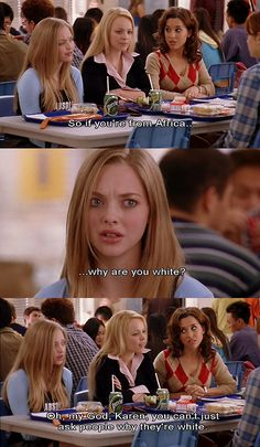 funny movie quotes | bimbo, karen, mean girls, movie quote, subtitles - inspiring picture ... OMG ahhahahah