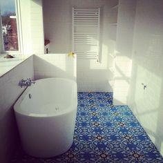 Iberian cement floor tiles - Hans