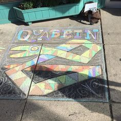 This past weekend Chartpak helped sponsor and judge a #chalkart #contest in #northamptonma held by the #northamptonartscouncil we will be posting photos of the participants this week hope you like them! Here is Rob Kimmel's submission. See us work over at @robkimmel  #chalk #supportthearts #quabbin #sidewalkart #feelslikesummer #artwork #fun