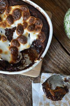 Ooey Gooey Smores Pudding Cake 2