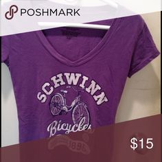 Vintage short sleeved tee Fun soft vintage short sleeved tee shirt. Who didn't want a Schwinn?... Tops Tees - Short Sleeve