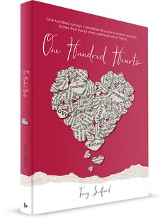 """Give the gift of courage this Valentines Day! Looking for the perfect heart felt gift for the women in your life?  Give them """"One Hundred Hearts.""""  This book shares deeply introspective stories of 100 women and their extraordinary courage. You'll laugh with them, cry with them, and see yourself in their journeys.  individually, the women you meet in this book display incredible courage.  Collectively, they inspire you to appreciate the courage you demonstrate in your own life on a daily…"""