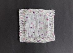 Bonding Squares are knitted in pairs. Bonding Squares BenSimpleSquare...