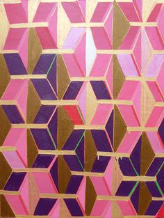 Image Via: Katherine Sable  #Anthropologie #and I thought, it would be nice to produce a 3D effect of quilts.