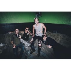 4/6 of Crown the Empire... Andy and Benn hahaha
