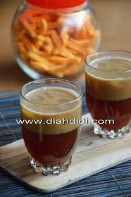 Diah Didi's Kitchen: Bajigur Indonesian Desserts, Indonesian Food, Indonesian Recipes, Food N, Food And Drink, Roti Canai Recipe, Diah Didi Kitchen, Malay Food, Traditional Cakes
