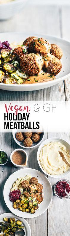 Holiday feastin', plant-based style. (V+GF)