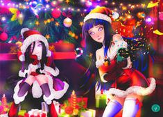 This is my Christmas commemorative artwork from Naruto. My favourite female characters of the series in sexy and cute Christmas dress and my artwork sty. Anime Naruto, Naruto Fan Art, Thicc Anime, Naruto Oc, Naruto Shippuden Sasuke, Naruto Girls, Hinata Hyuga, Pretty Anime Girl, Anime Art Girl