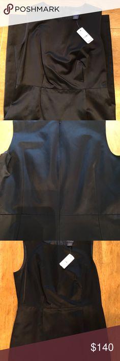 Brooks Brothers Black Dress SIZE 2 SHELL: 47% ACETATE 53% COTTON LINING: 100% BEMBERG   ORIGINAL PRICE 179.50 Brooks Brothers Dresses