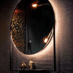 Frame is an innovative new range of LED mirrors that are industrial in style, highly practical with a built in shelf, energy-efficient and compliment any bathroom or home environment. Led Mirror, Mirrors, Bathroom Trends, Decoration, Bathroom Accessories, Bathrooms, Shelf, Wall Lights, Environment