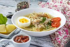 Soto Indonesian Cuisine, Thai Red Curry, Ramen, Japanese, Dinner, Ethnic Recipes, Food, Google, Dining