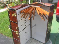 Vintage Wardrobe Trunk