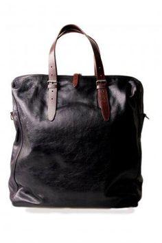 Dries Van Noten Leather Shopper Bag