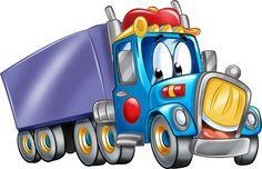 "Photo from album ""Транспорт"" on Yandex. Kids Cartoon Characters, Cartoon Kids, Blue Nose Friends, Baby Clip Art, Garage Art, Sons Birthday, Felt Patterns, Toy Trucks, Baby Quilts"