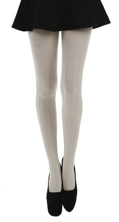 Linda Seta Tights (Cream) - Pamela Mann  #hosiery, #tights, #PamelaMann