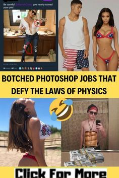 Botched Photoshop Jobs That Defy the Laws of Physics Hu Ge, Professional Photo Editor, Cool Fidget Spinners, How To Use Photoshop, Bandage, Body Shaming, Free Advice, Photo Editing Tools, Just Don
