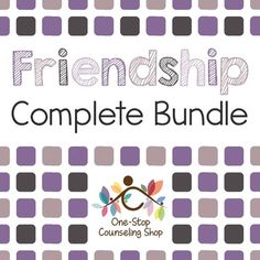 Over 100 pages of #friendship and social skills activities! Great for kids with Autism, Cognitive Impairments, or other disabilities!