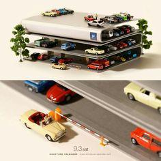 Little people project - parking garage