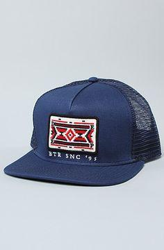 The Taos Trucker Hat in Navy by 10 Deep