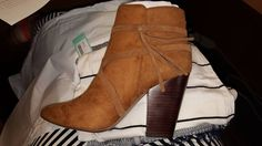 REPORT FOOTWEAR Indiana Side Tie Bootie from Stitch Fix…