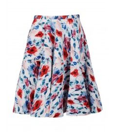 4 Fall Trends You Can Wear Now: Romantic Florals - N° 21 Full Floral Skirt http://shop.harpersbazaar.com/trends/fall-trends-for-now