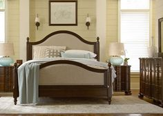 Paula Deen River House King Low Post Bed by Universal