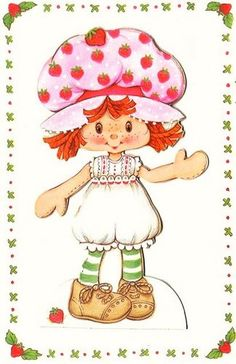 Strawberry Shortcake ~ Vintage Images: Valentines Day / Easter