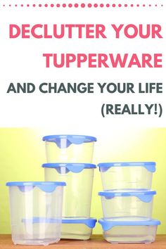 "Could decluttering your Tupperware drawer really change your life? It did for this full-time working mom of three! This post shares the key questions she asked herself about her Tupperware (and everything else she owns) to help her create a freer, happier, lighter home for her and her family. If you're done feeling stressed every time you open ""that drawer"" this is a must read! Kids Bedroom Organization, Budget Organization, Organizing, Minimalist Parenting, Feeling Stressed, Toy Rooms, Declutter Your Home, Glass Containers, Decluttering"