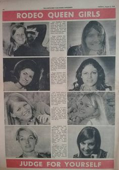 Mount Isa Rodeo Queen Girls 1969. Rodeo Queen, Australia, Dance, Girls, Movie Posters, Dancing, Toddler Girls, Daughters, Maids