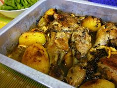 Chillies and Lime: Slow Baked Chicken with Potatoes, Lemons and Thyme...