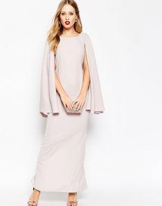 Foto 9 de 14 Vestido largo tipo capa extremo con nudo. Precio 76 euros | HISPABODAS