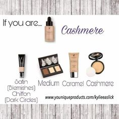 Younique touch mineral liquid foundation in Cashmere